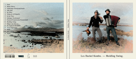 Les Buckel CD Cover